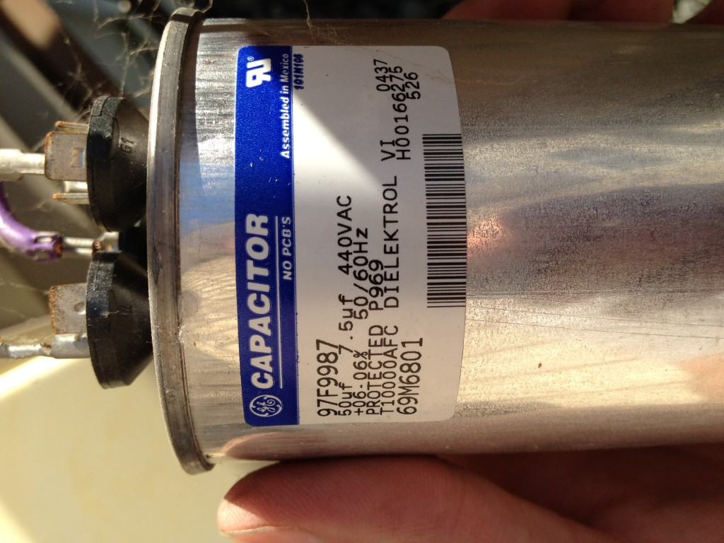 Old Capacitor Specs